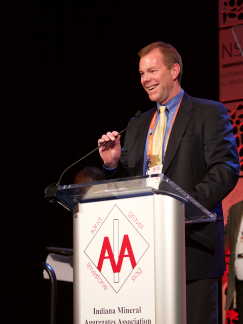 Andy Williams, Rogers Group, Inc. presents the 2018 Hall of Fame Award