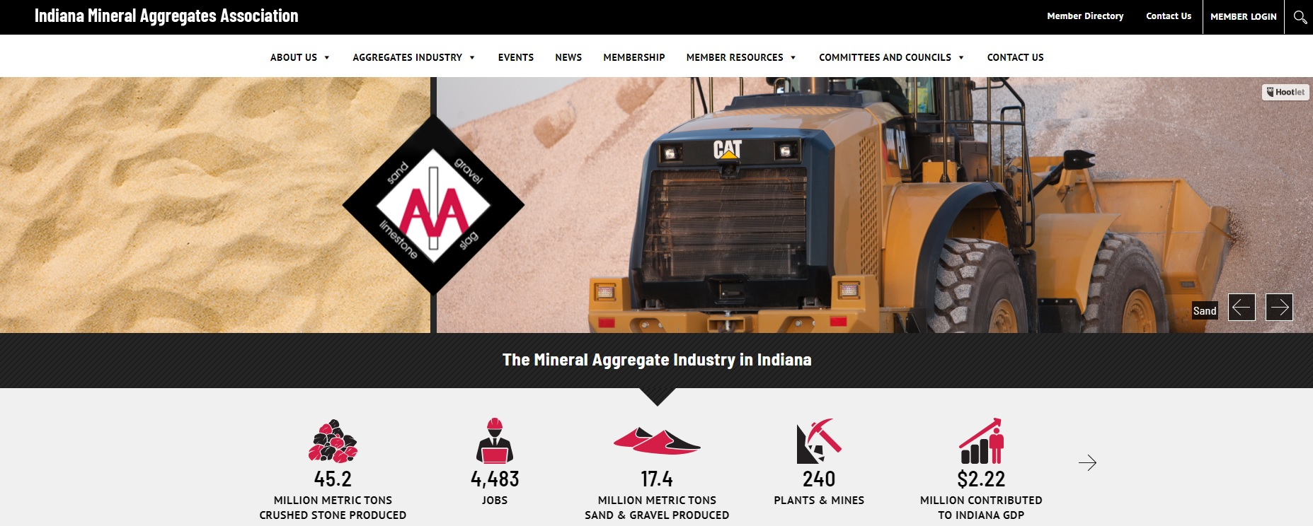 New IMAA Website