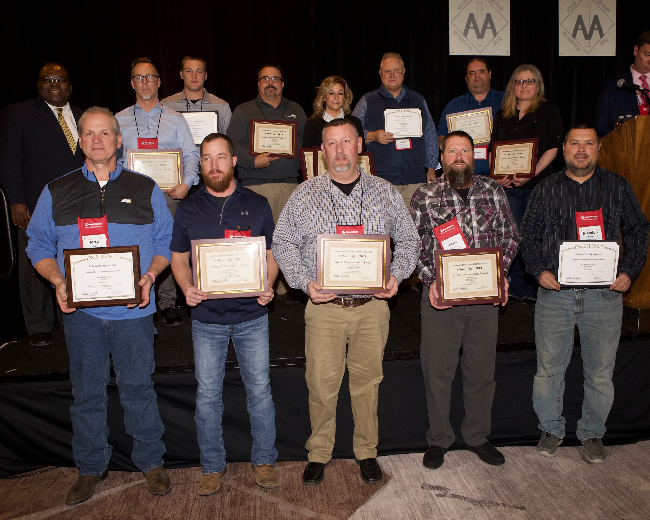 2019 Safety Awards - US Aggregates