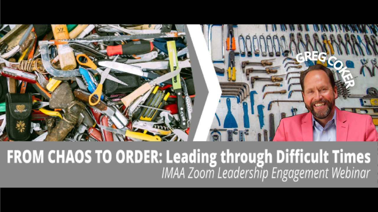 From Chaos to Order webinar