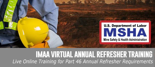 IMAA Virtual Annual Refresher Training
